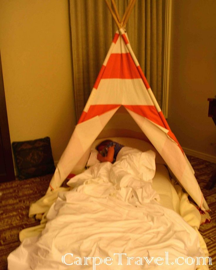 You can rent a tee-pee for your kids during your stay at The Wigwam Review. Click for the full review.