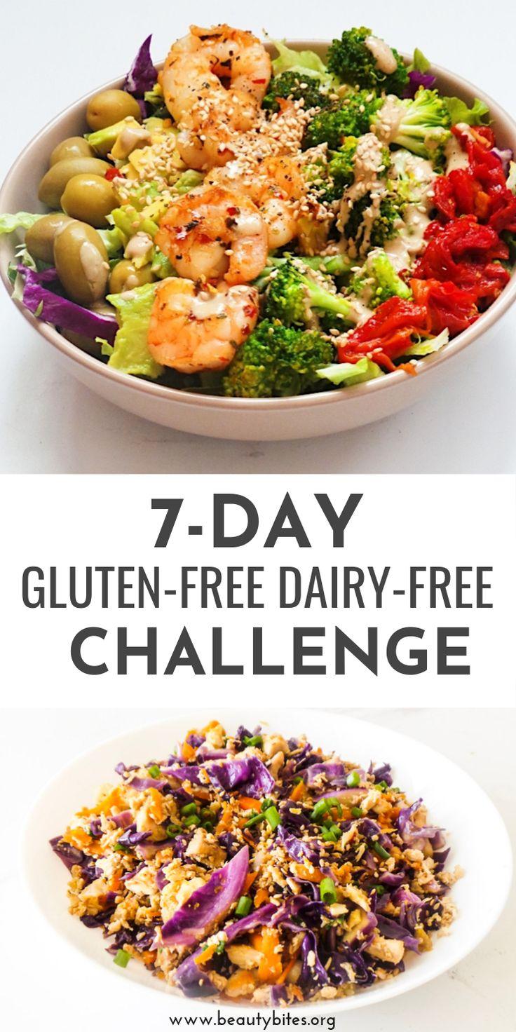 7Days Of GlutenFree & DairyFree Recipes & Challenge