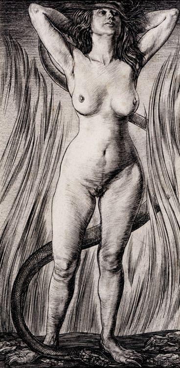 thechymicalmarriage:    Austin Osman Spare-Vampyre-1921