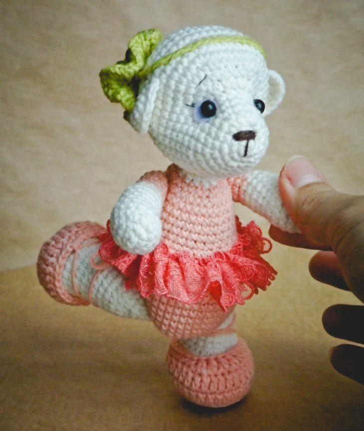 78 besten Crochet bears Bilder auf Pinterest | Bären, Amigurumi und ...