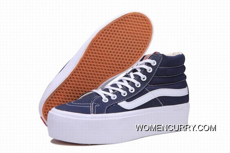 https://www.womencurry.com/vans-sk8hi-platform-classic-blue-white-womens-shoes-online.html VANS SK8-HI PLATFORM CLASSIC BLUE WHITE WOMENS SHOES ONLINE Only $68.88 , Free Shipping!