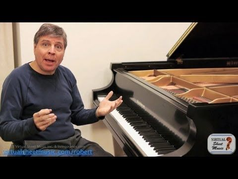 How to use the pedal in Beethoven's Moonlight Sonata - Video by Robert Estrin on Virtual Sheet Music
