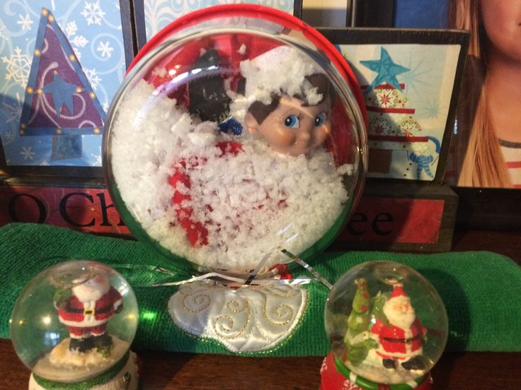 Elvis disguised as a snow globe!