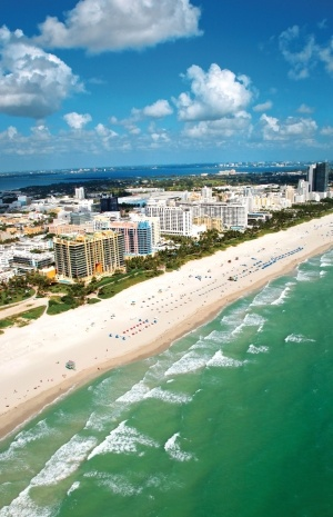 South Beach - Miami, Florida.  I love Miami, and especially love South Beach...we stayed here pre & post cruise...can't wait to go back