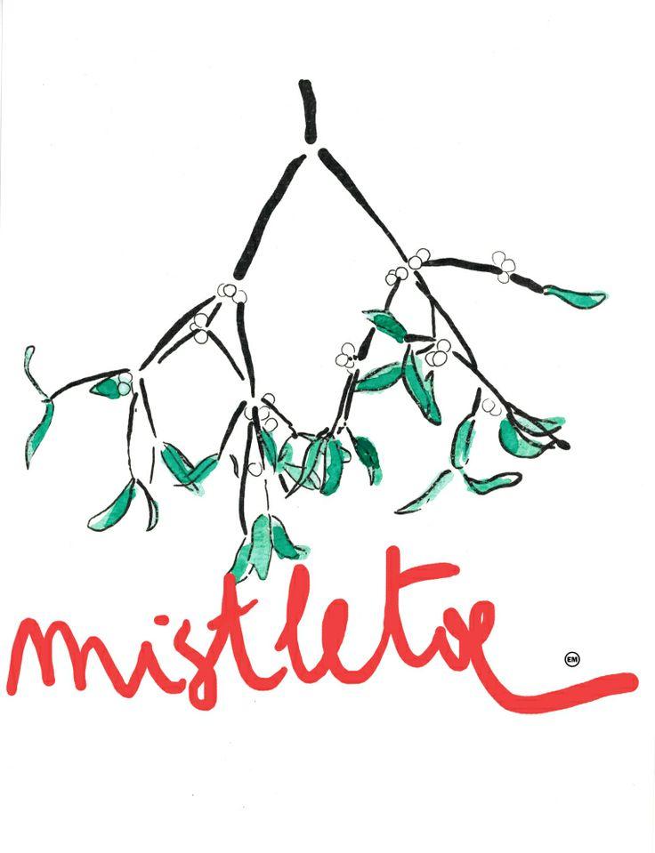 mistletoe happy new year!
