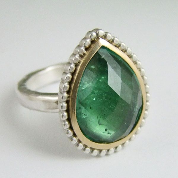 #Green #Tourmaline by Alexis Dove http://www.fldesignerguides.co.uk/engagement-ring-designer/alexisdove