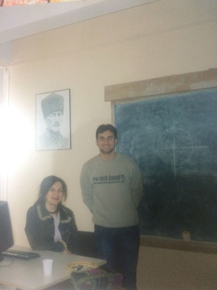 Nazan Hocamla son ders hatırası