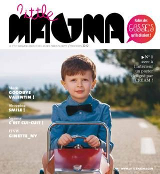 great little magazine for stylish kids and cool parents. in french