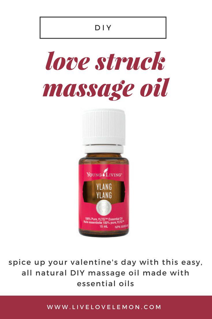 DIY Love Struck Essential Oil Massage Oil