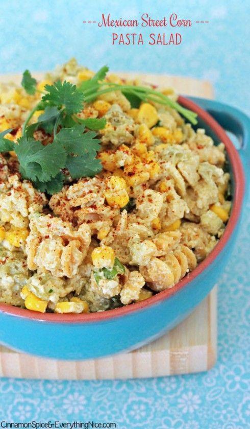 Mexi Street Corn Pasta Salad