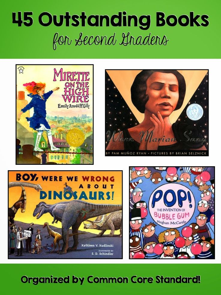FABULOUS books for 2nd graders, organized by Common Core Standard!