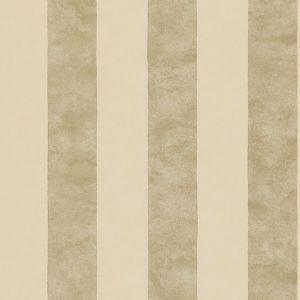 Sanderson     Parchment Stripe Wallpaper - Neutral/Silver DPFWPS103