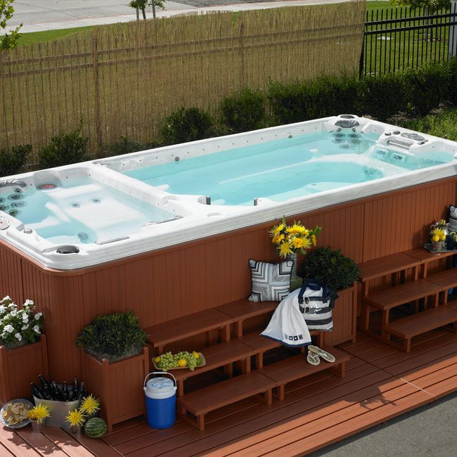10 best swim spas images on pinterest spa images spa. Black Bedroom Furniture Sets. Home Design Ideas