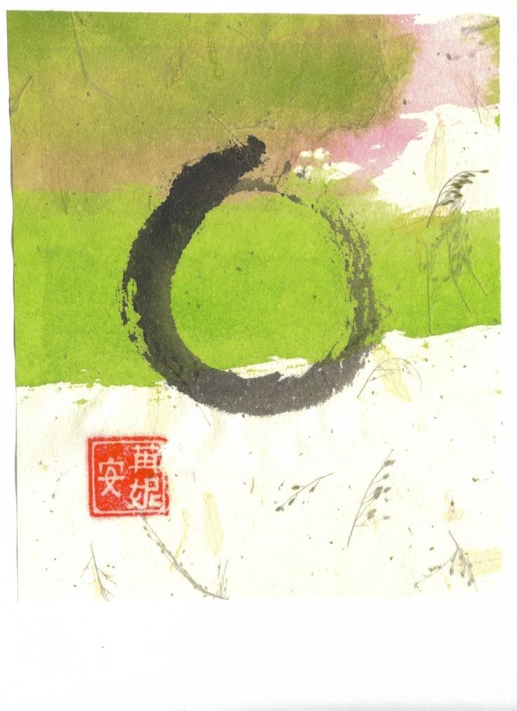 Ensō- the empty circle of Zen