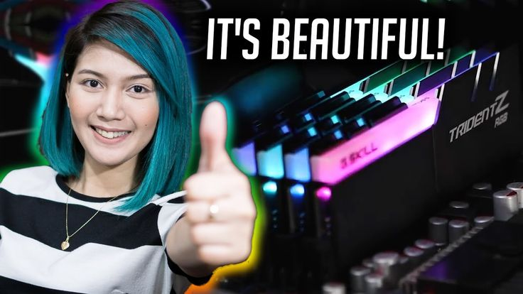 The Most BEAUTIFUL RAM!!! G Skill Trident Z RGB Overview