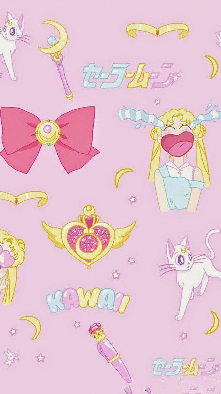 Sailormoon Wallpaper ♡ Sailor moon wallpaper, Sailor