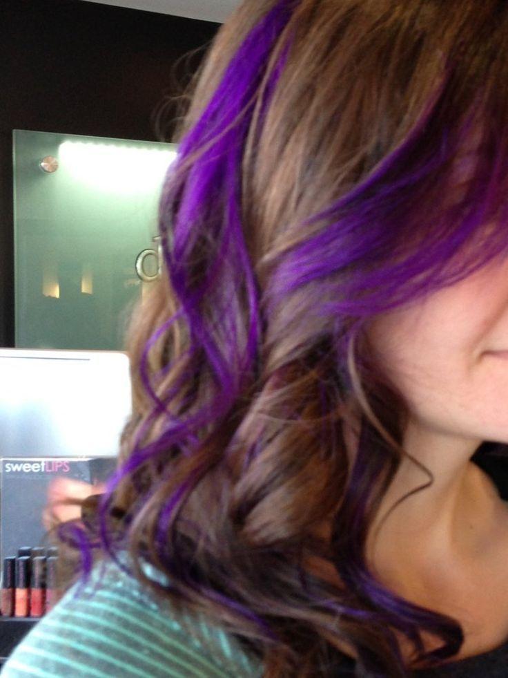 Purple peekaboo highlights | jpg - Picmia