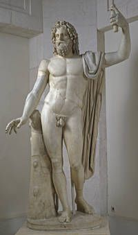 """""""Júpiter Tonante"""", Taller romano, 85-100, Mármol"""