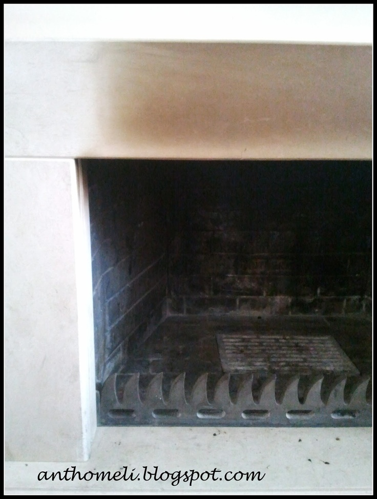 How to clean the fireplace - Ανθομέλι: Καθάρισμα καπνισμένου μάρμαρου σε τζάκι