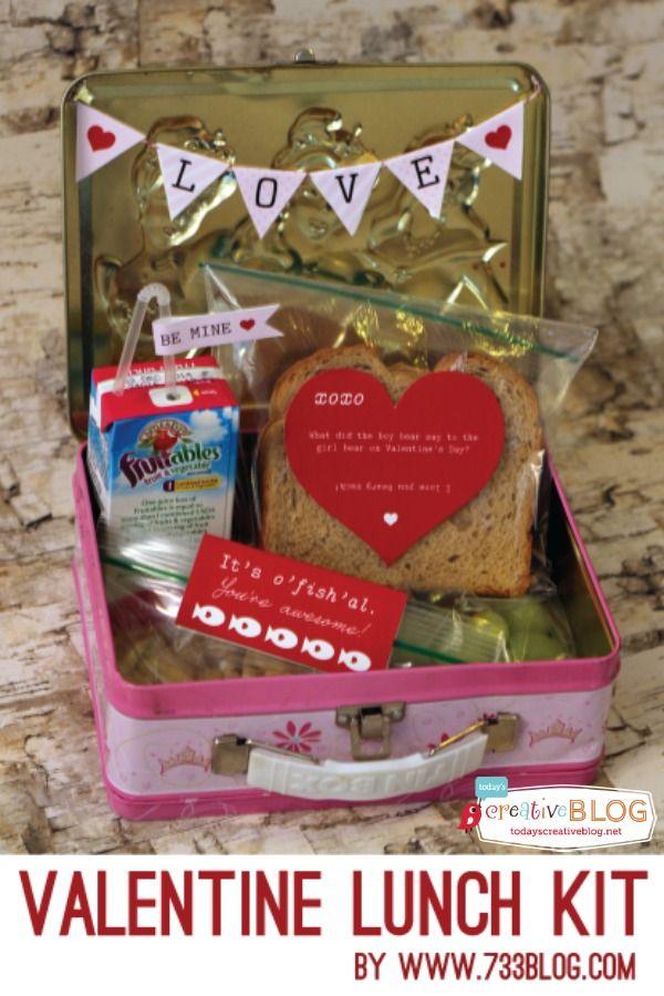 free printable valentine lunch box notes |TodaysCreativeBlog.net