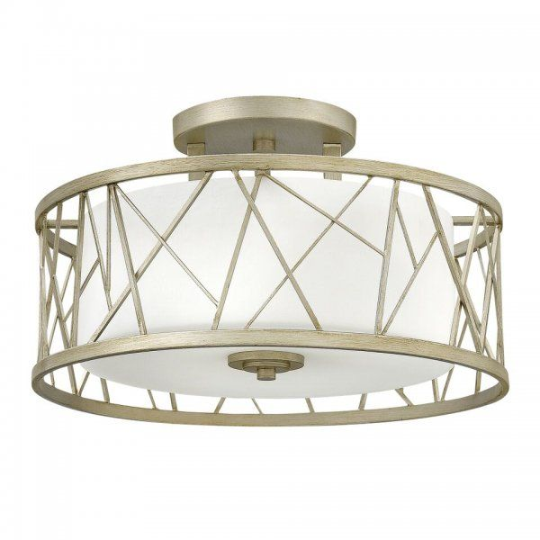 NEST circular semi-flush fitting low ceiling light