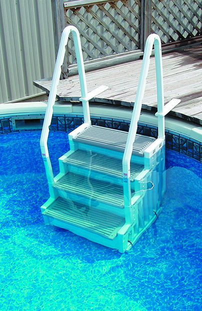 confer step 1 staircase style above ground pool steps description model step 1