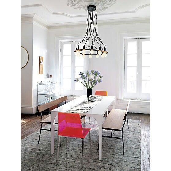 Radial Chandelier Cb2 299 Could Be Recreated