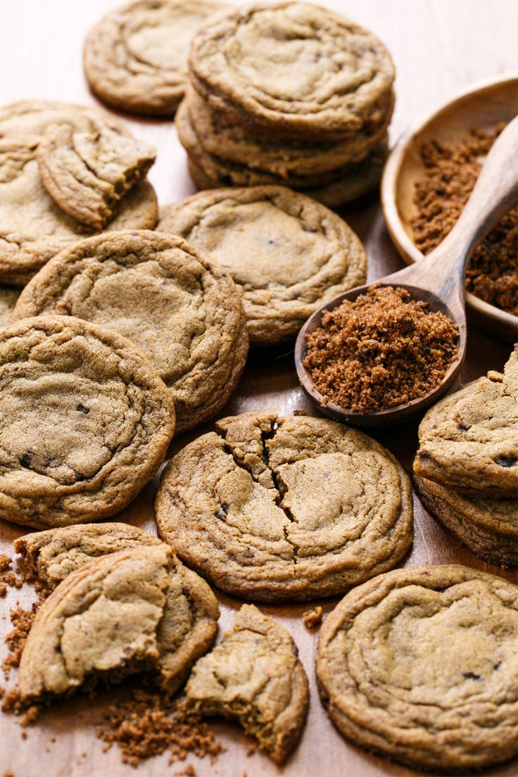 Soft & Chewy Muscovado Sugar Cookies