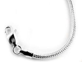 Heavy 3mm Sterling Silver Inch Snake Chain Necklace(Lengths 16',18',20',22',24',30') *** Click image to read more details. #JewelryDesign