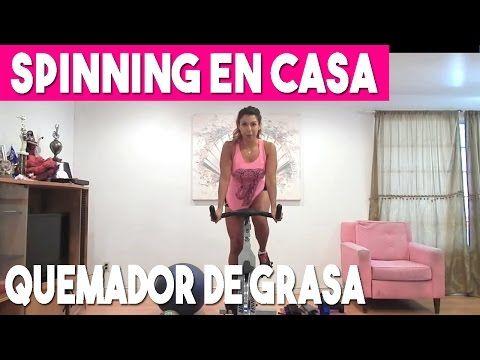 Rutina en bicicleta estática para pérdida de peso - YouTube