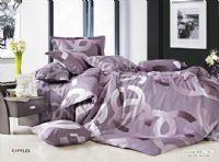 Chanel Purple Bedding Set 37862