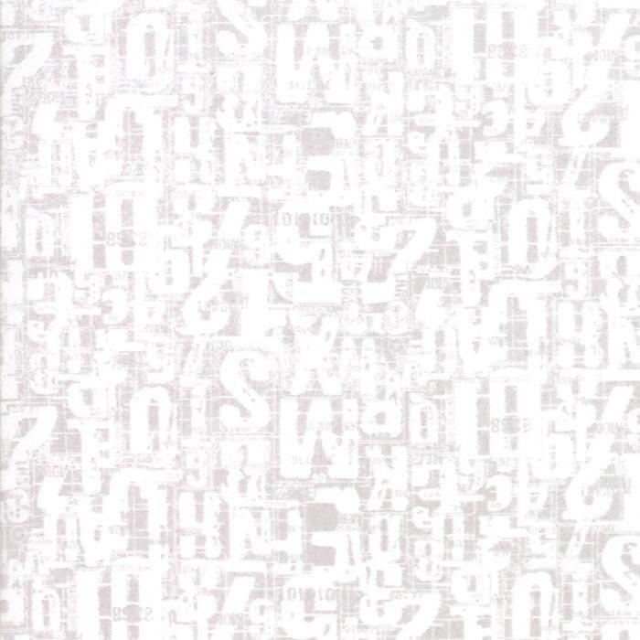 1/2 Yard Basic Grey Compositions Fog Jumble