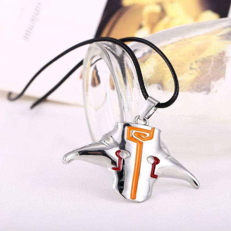 Dota 2 Blademaster Dominate Jugg Mask Pendant Necklace