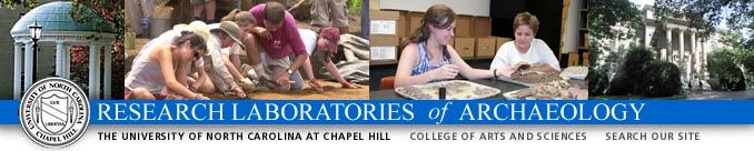 Research Laboratories of Archaeology at the University of North Carolina Chapel Hill