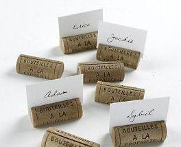 card holders from bottle corks