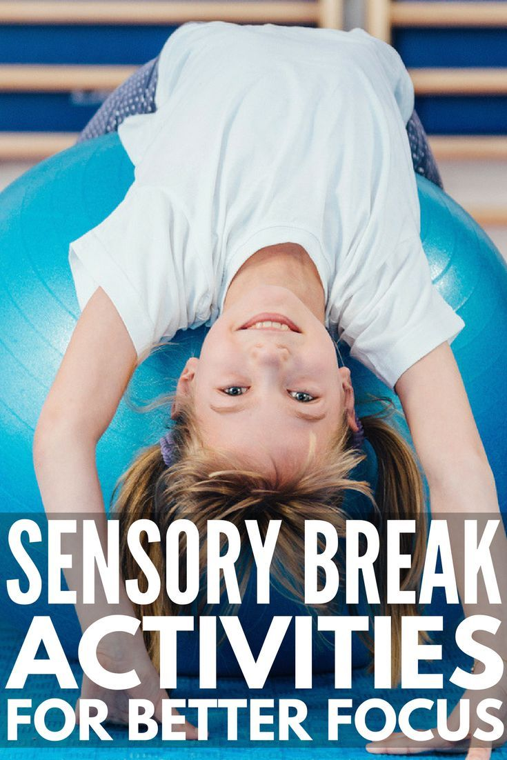 21 Sensory Break Activities for Kids | Also known as 'brain breaks' & 'movement breaks', these sensory breaks for kids are perfect to help students with ADD, ADHD, sensory processing disorder, autism & other developmental delays calm down & focus in the classroom. Perfect for teachers & parents, these fun ideas also develop gross motor skills, improve self-regulation & help with behavior management in the classroom. #sensorybreakactivities #sensorybreak #sensoryactivities #brainbreaks