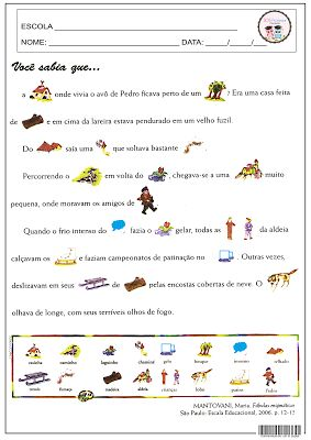 SOS PROFESSOR-ATIVIDADES: Ortografia