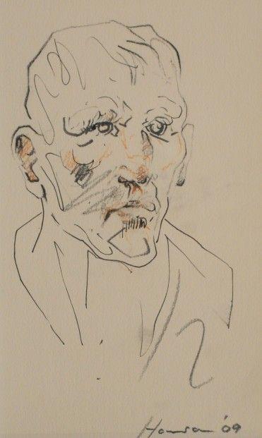 Peter Howson Map Club I  | Scottish Contemporary Art