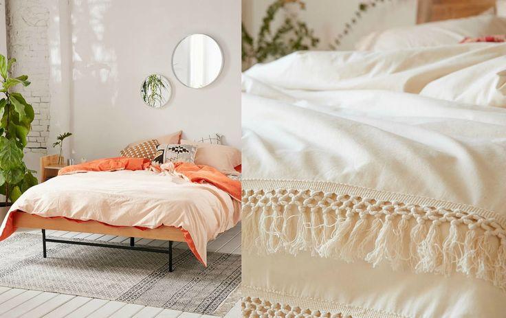 Wiosenna pościel - kilka pomysłów na sypialnie. Ideas for Bedrooms   Cleo-inspire Blog   Cleo-inspire