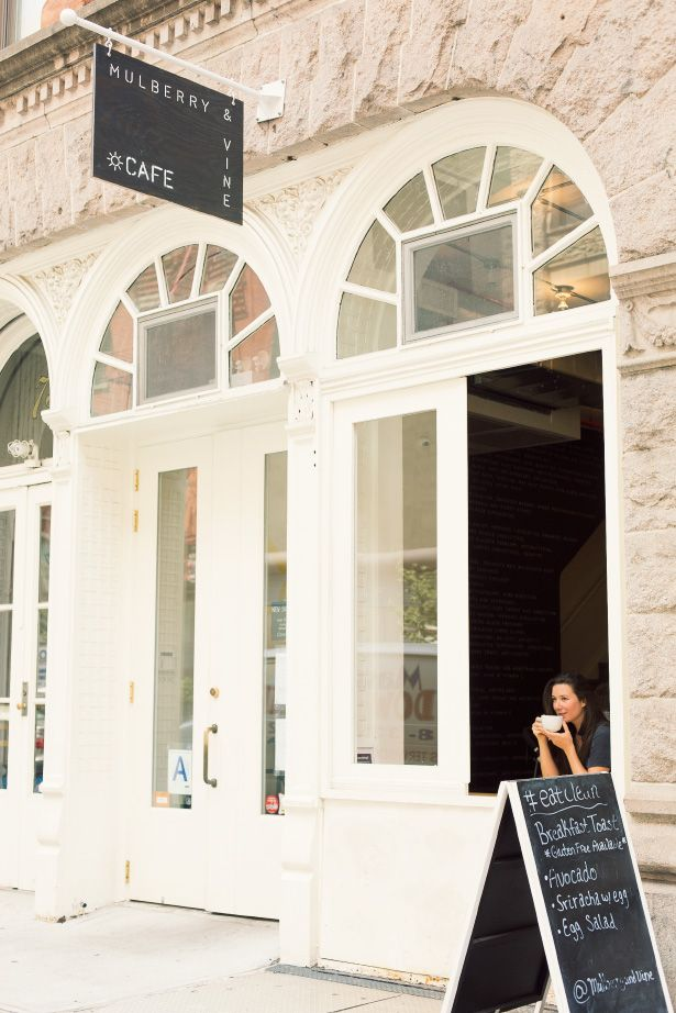Tribeca's Mulberry & Vine, an organic, farm to table lunch spot