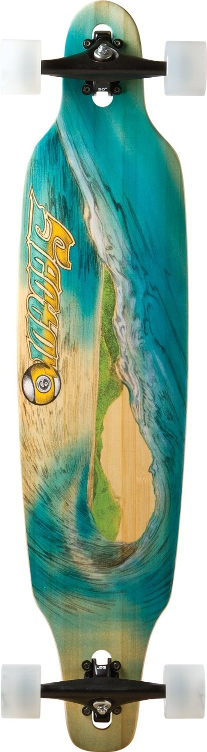Dad will dig the graphics on this #sector9 #longboard and the smooth ride.