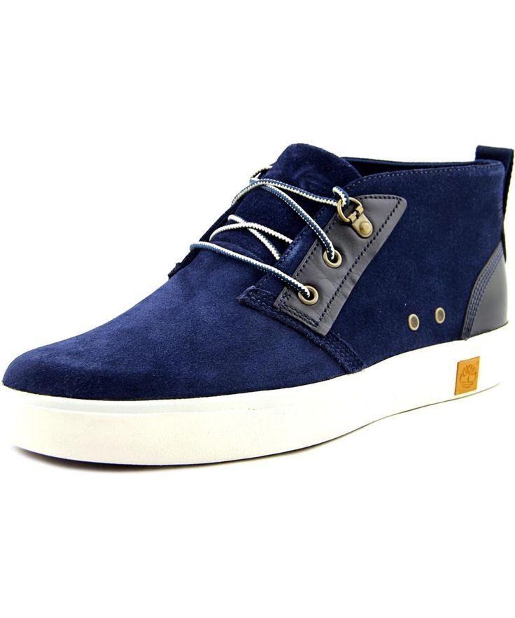 TIMBERLAND   Timberland Amherst Chukka Men  Round Toe Canvas Blue Chukka Boot #Shoes #Boots #TIMBERLAND