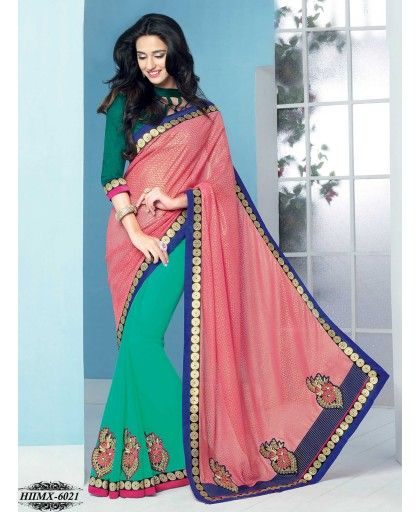 New Indian most recent fashion wedding wear fashionable Sarees in online & is available at best discount offer price. Modern Embroidery Saree, Red Embroidery Saree, Embroidery Saree and Exclusive Braso Designer Sarees are available. There is various conventional style of Sarees in India market but each women wants to add these most beautiful Sarees in their clothing. Buy Latest & New Collection #Style Sarees, Designer #Sarees, Bollywood Sarees Online in India @ http://bit.ly/1Tn0jQF