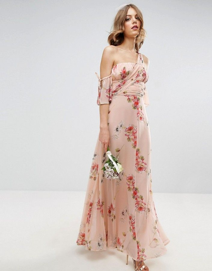 78 images about floral bridesmaid dresses on pinterest for Summer maxi dress for wedding