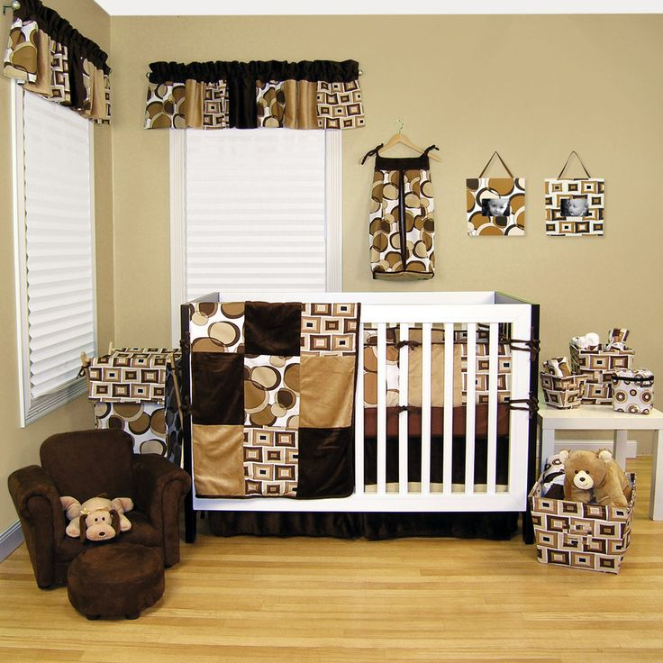 simple baby nursery room design with cute brown soft baby nursery chairs furniture ideas on the wooden flooring design and beautiful interior baby nursery
