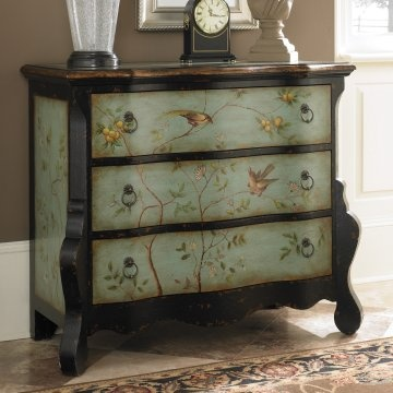 Want to do this <3: Ideas, Treasures Accent, Painted Furniture, Wayfair, Accent Chest, Drawer Accent, Drawers, Hidden Treasures, Hammary Hidden