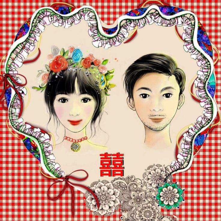 Wedding Card-by Arwen Lee