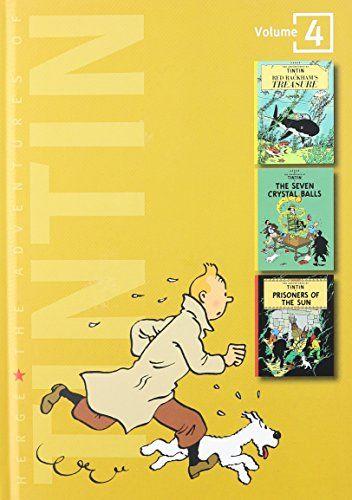 The Adventures of Tintin, Vol. 4:  Red Rackham's Treasure / The Seven Crystal Balls / Prisoners of the Sun (3 Volumes in 1) by Hergé http://www.amazon.com/dp/0316358142/ref=cm_sw_r_pi_dp_BozRwb1CRFEXZ