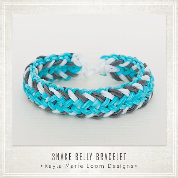 Rainbow Loom Bracelet Mini Snake Belly