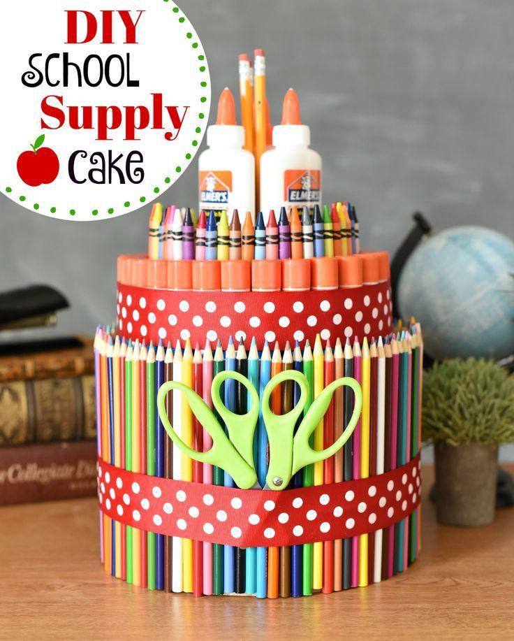 Schulmaterial Kuchen! Ein lustiger Weg, um das Sch…